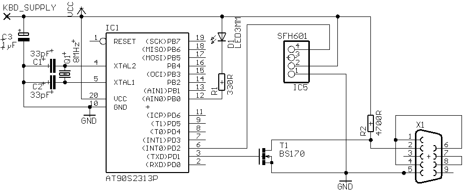 how to connect ir receiver